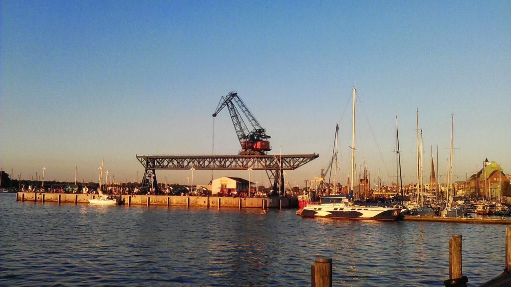 Der Rostocker Stadthafen